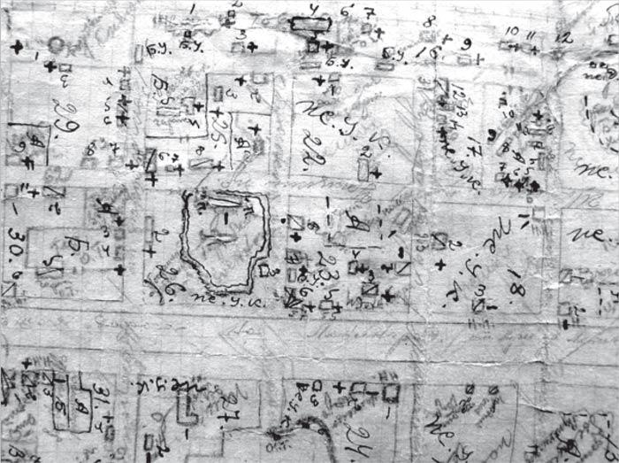 Схематичный план центральной