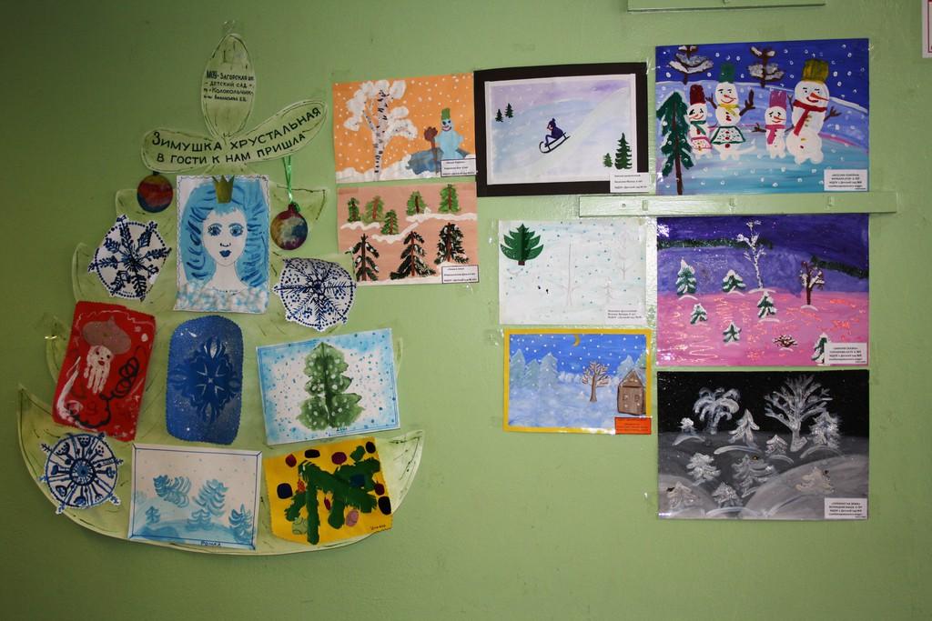 Детские художественные конкурсы к новому году