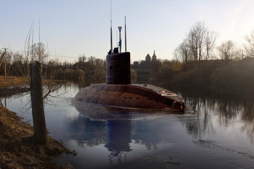 про подводные лодки экстренное всплытие